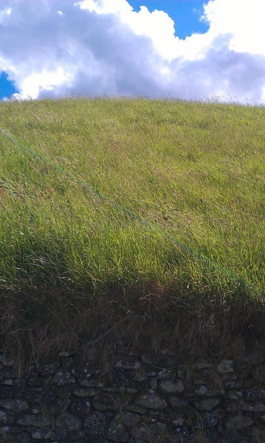 Ein Hügel lizenzfreies stockfoto