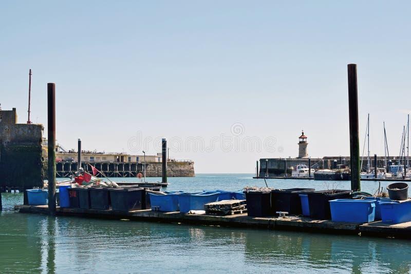 Ein Hafen in Kent lizenzfreie stockfotos