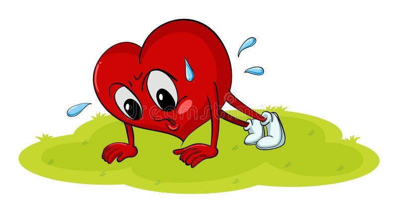 Ein Herz stock abbildung