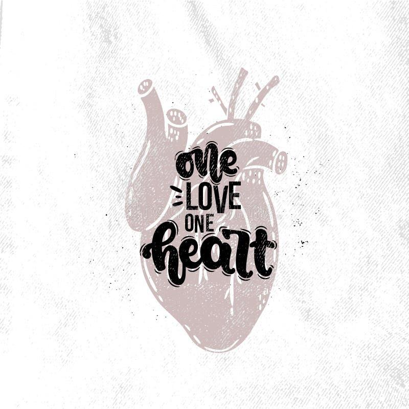 Ein Herz der Liebe eine vektor abbildung