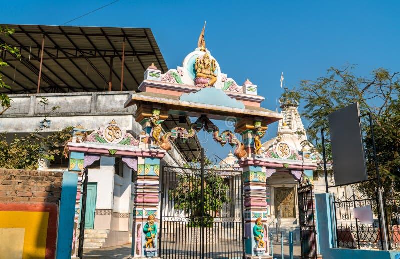 Ein hindischer Tempel in Patan - Gujarat, Indien stockfotografie