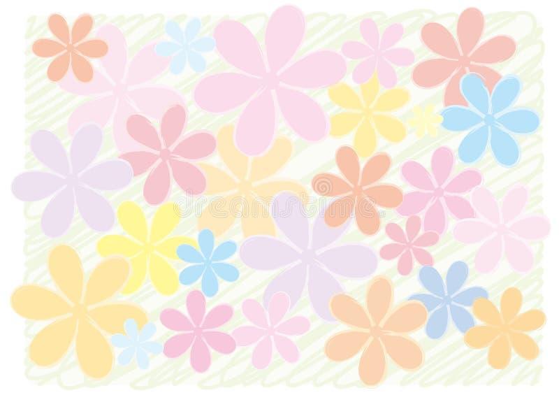 Ein Hintergrund einer Blume stock abbildung