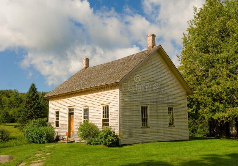 Ein historisches Haus in Virginia stockbilder