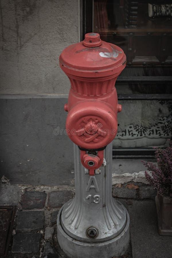 Ein Hydrant in Kopenhagen lizenzfreie stockfotografie