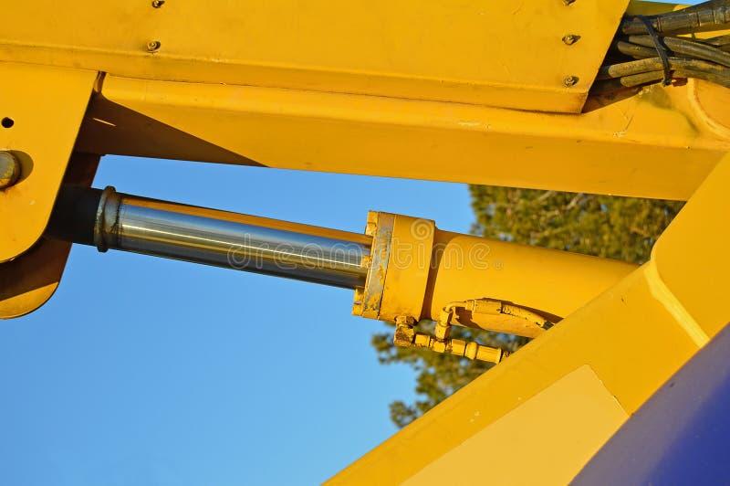 Ein hydraulischer Stoßheber stockfotografie
