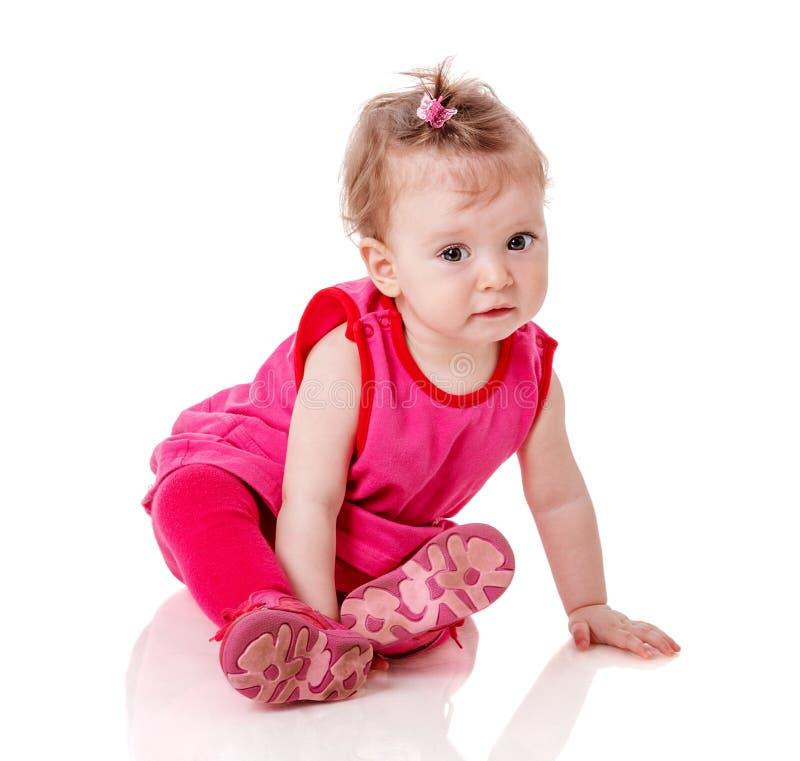 Ein Jahr-Baby stockfotografie