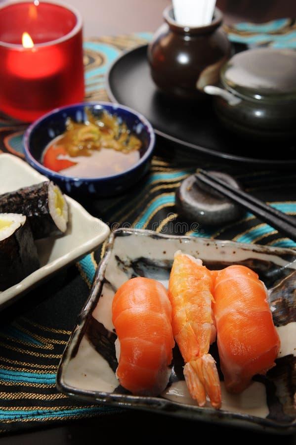Japanischer Nahrungsmittelsashimi lizenzfreies stockbild