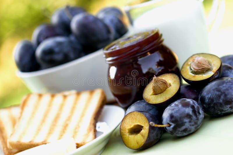 Ein köstliches Frühstück stockfoto