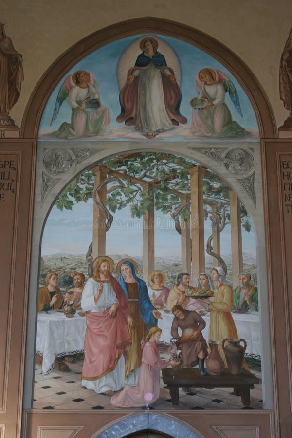 Ein Karem, iglesia del Visitation imágenes de archivo libres de regalías