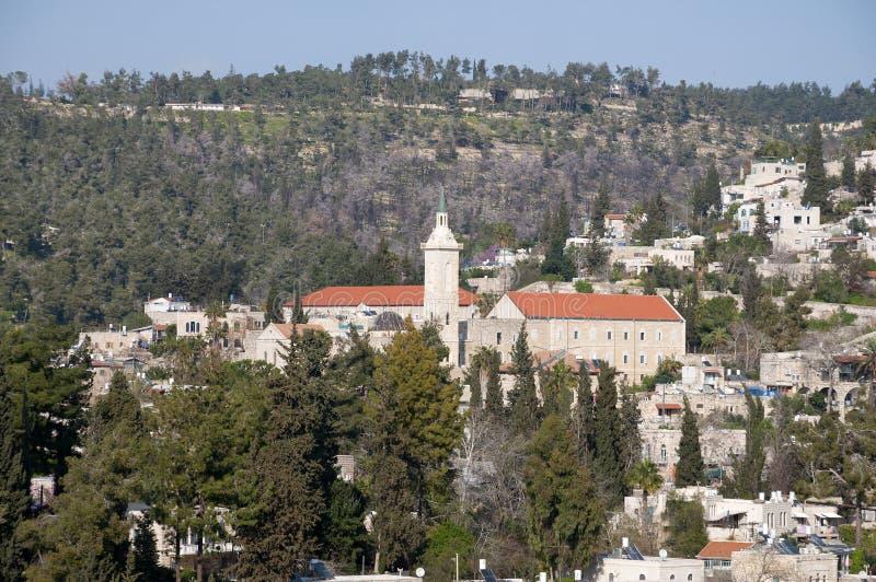 Ein Karem kyrka, Jerusalem arkivbilder