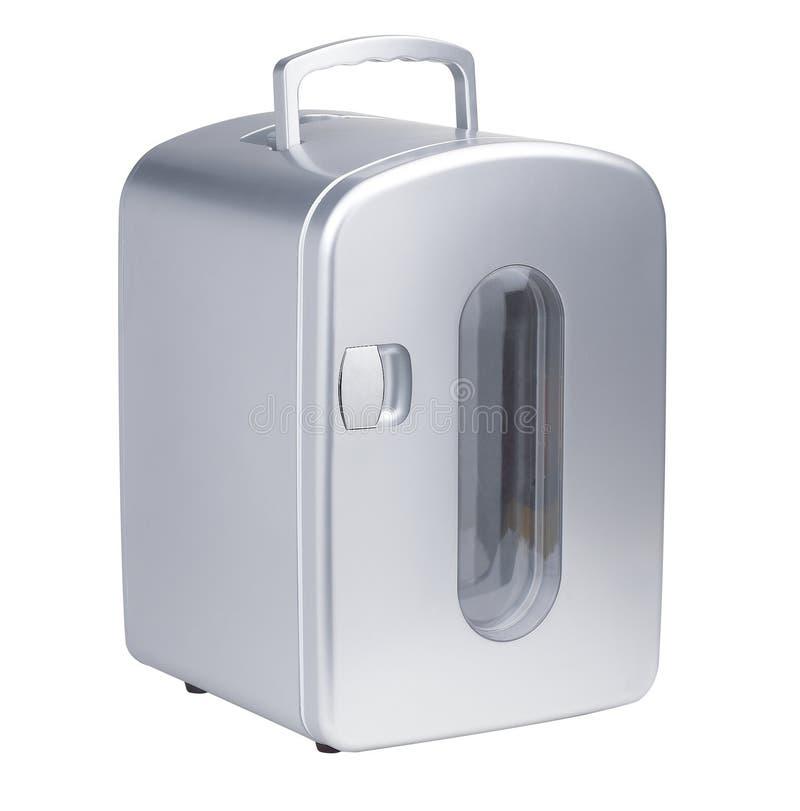 Ein kleiner beweglicher Kühlraum stockfotografie