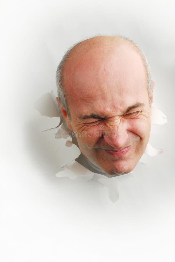 Ein Kopf lizenzfreie stockbilder