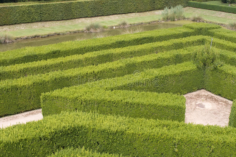 Ein Labyrinth lizenzfreies stockbild