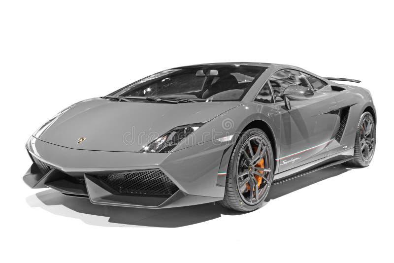 Ein Lamborghini-Auto lizenzfreies stockfoto