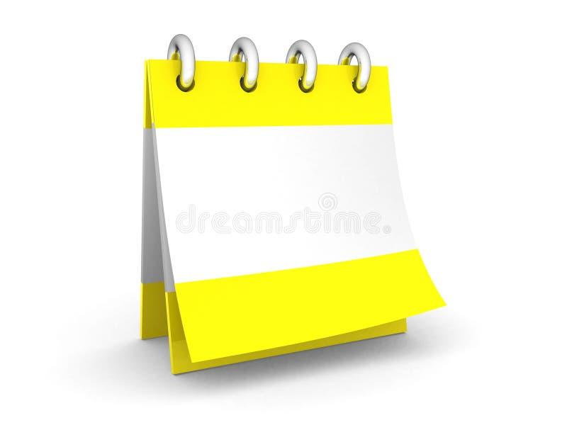 Download Ein leerer Kalender stockbild. Bild von überschreiten - 27733765