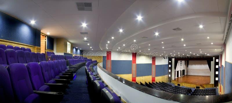 Ein leeres Auditorium-Theater stockbilder