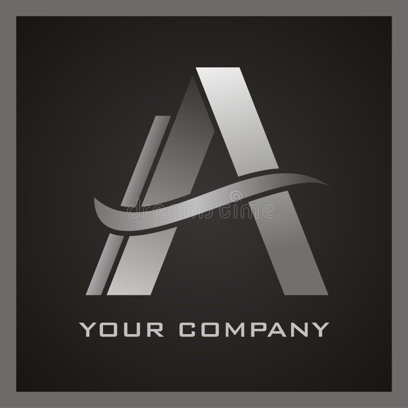 Ein Logo lizenzfreie abbildung
