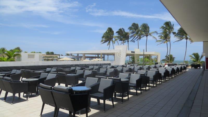Ein Luxushotel um Ahungalla Sri Lanka lizenzfreie stockfotografie