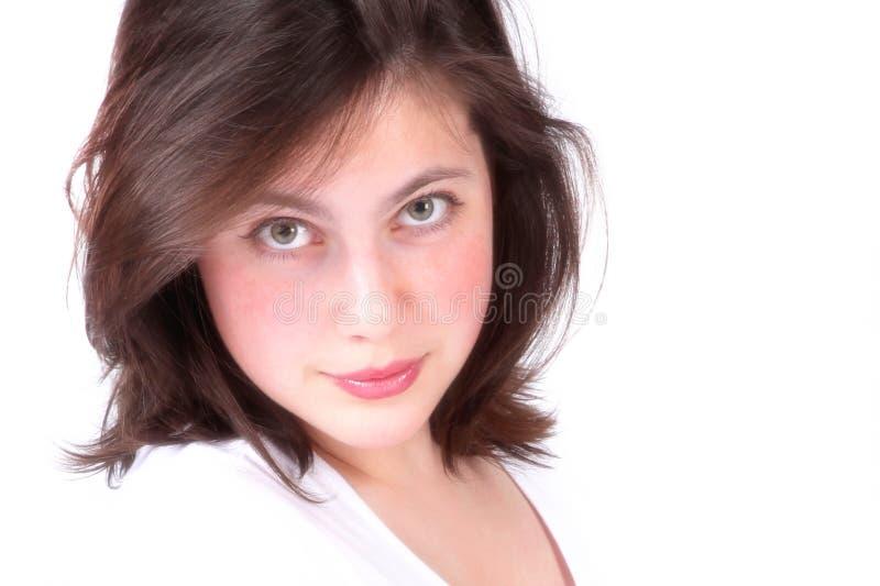 Ein Mädchen stockfotos