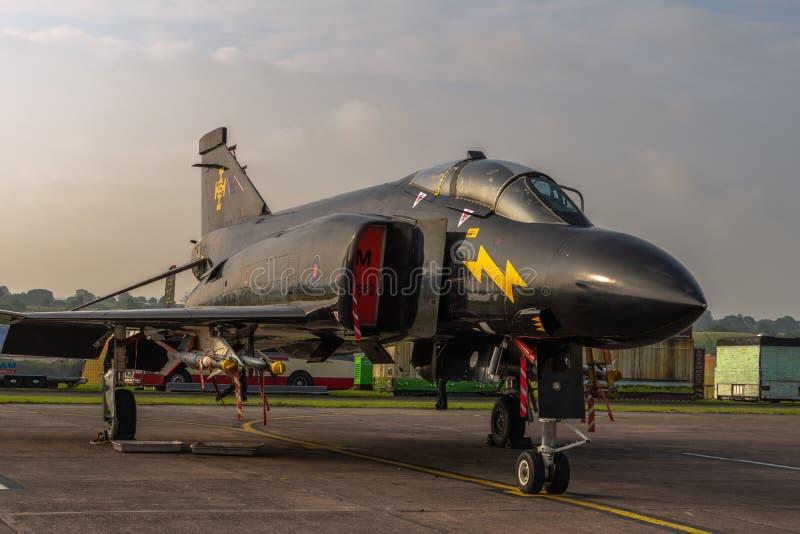 Ein McDonnell Douglas Phantom lizenzfreies stockfoto