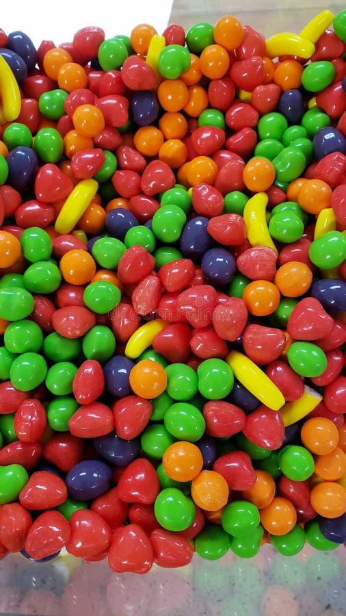 Ein Meer der Süßigkeit stockfotos