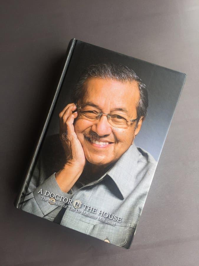 Ein Memoir von Mahathir Mohammad lizenzfreie stockfotos