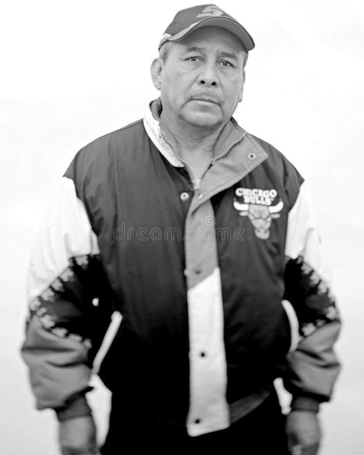 Ein mexikanischer Mann lizenzfreies stockbild