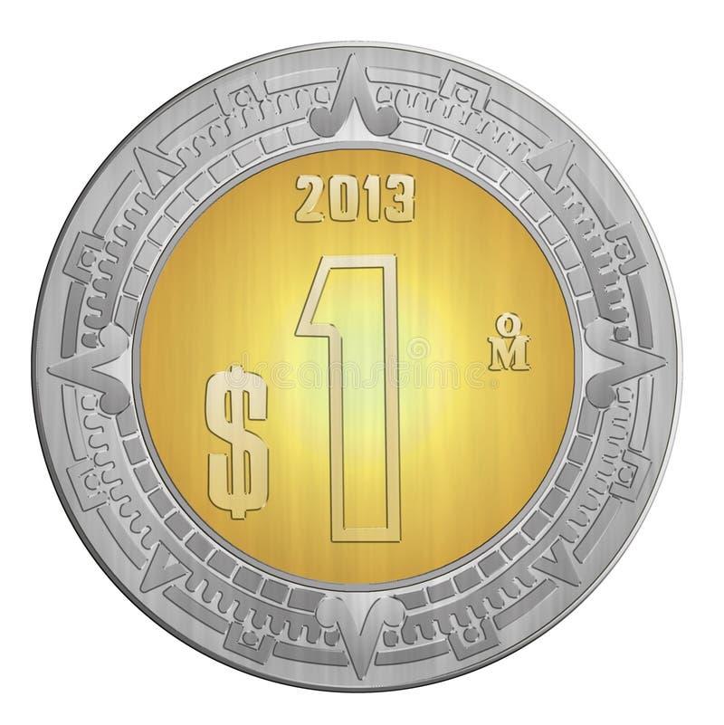 Ein mexikanischer Peso stock abbildung