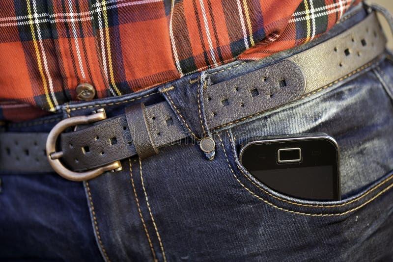 Ein Mobiltelefon stockfotografie