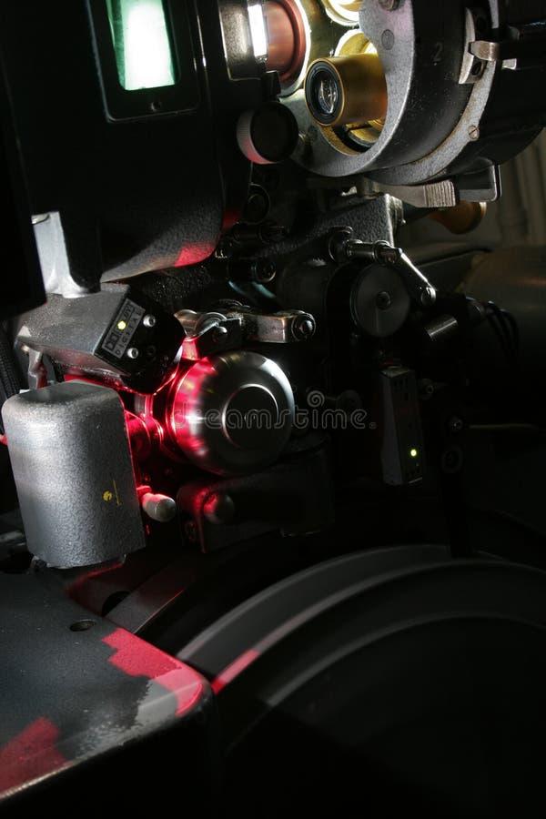 Ein moderner 35mm Filmprojektor lizenzfreie stockbilder