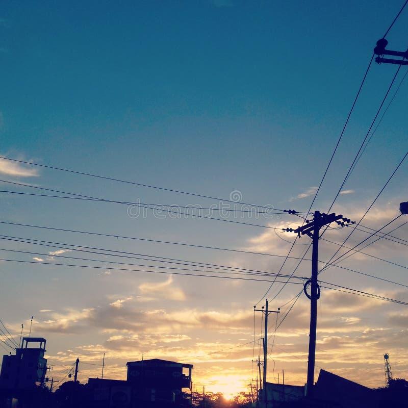 Ein Morgenbild stockfotografie