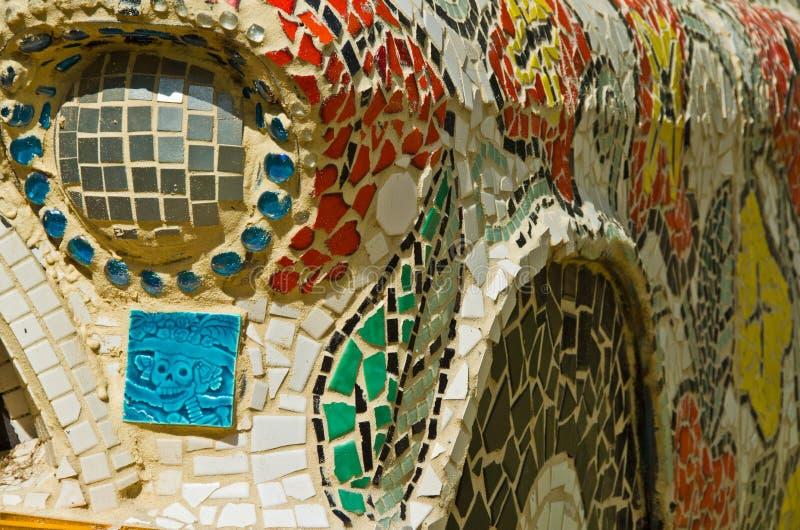 Ein Mosaikauto lizenzfreies stockbild