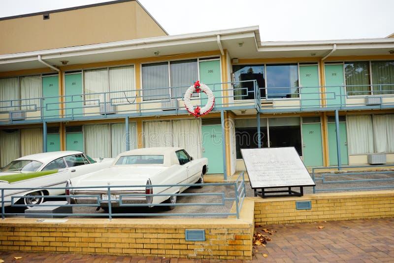 Ein Motel stockbild