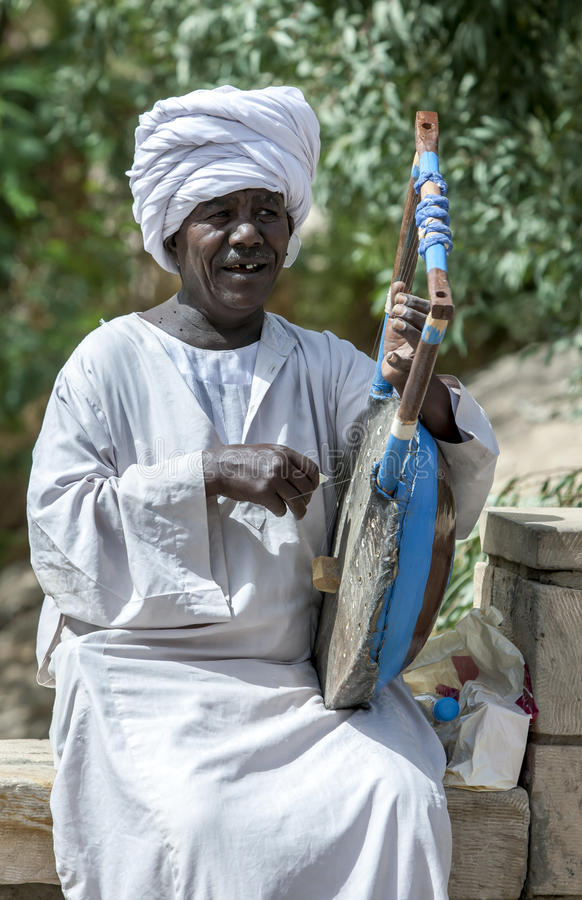 ägyptischer Sänger