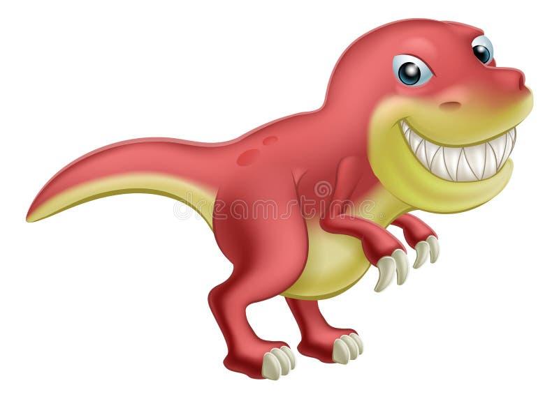 Karikatur-Dinosaurier vektor abbildung