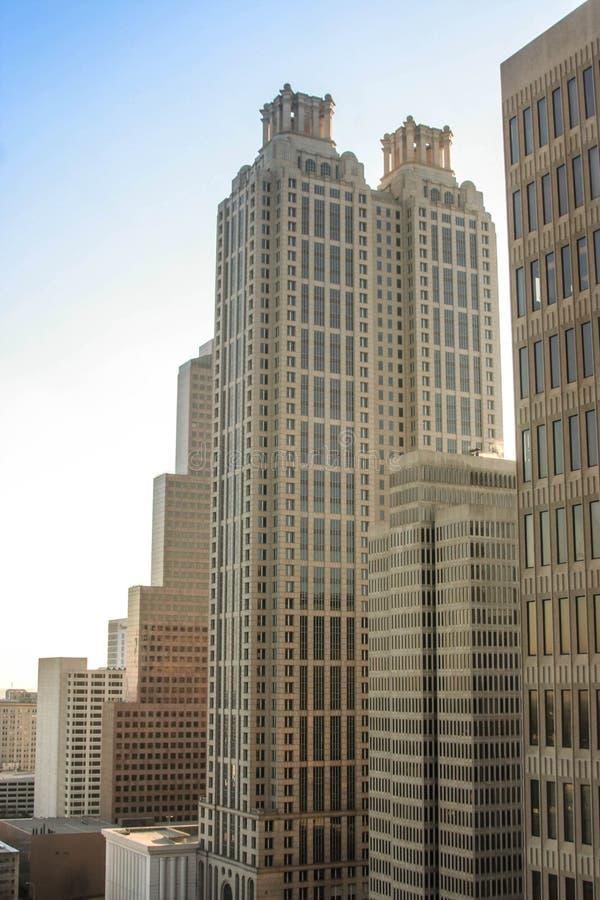 Ein neunzig ein Peachtree-Turm, ATLANTA, GA lizenzfreies stockbild