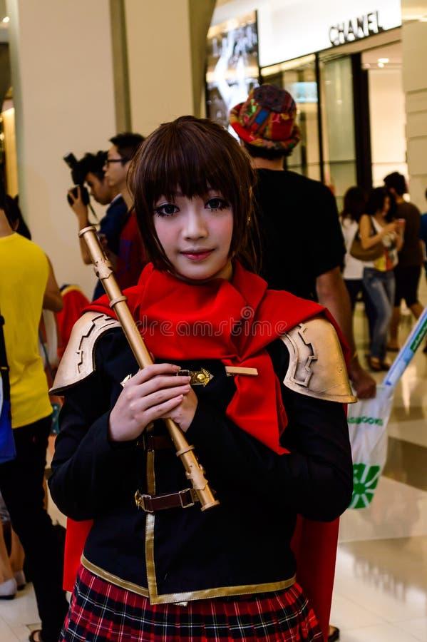 Download Ein Nicht Identifizierter Japanischer Anime Cosplay. Redaktionelles Bild - Bild von asiatisch, chinesisch: 26350645