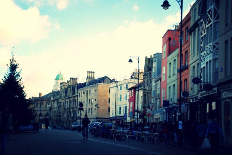 Ein Oxford-Nachmittag lizenzfreie stockfotos