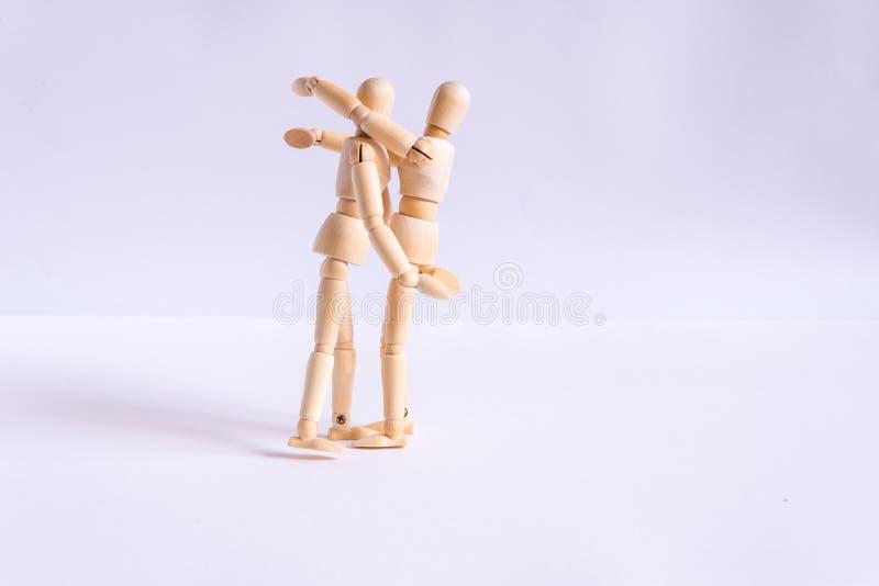 Ein Paar, das stockfoto