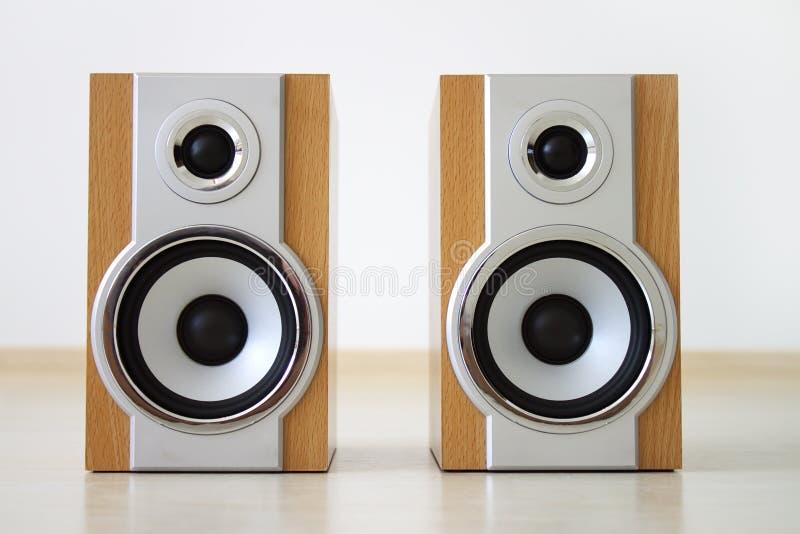 Ein Paar Lautsprecher lizenzfreies stockfoto