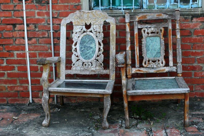 Ein Paar Stühle lizenzfreies stockfoto
