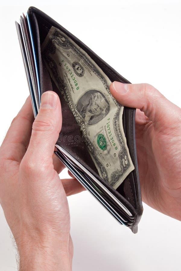 Ein Paardollar lizenzfreies stockbild