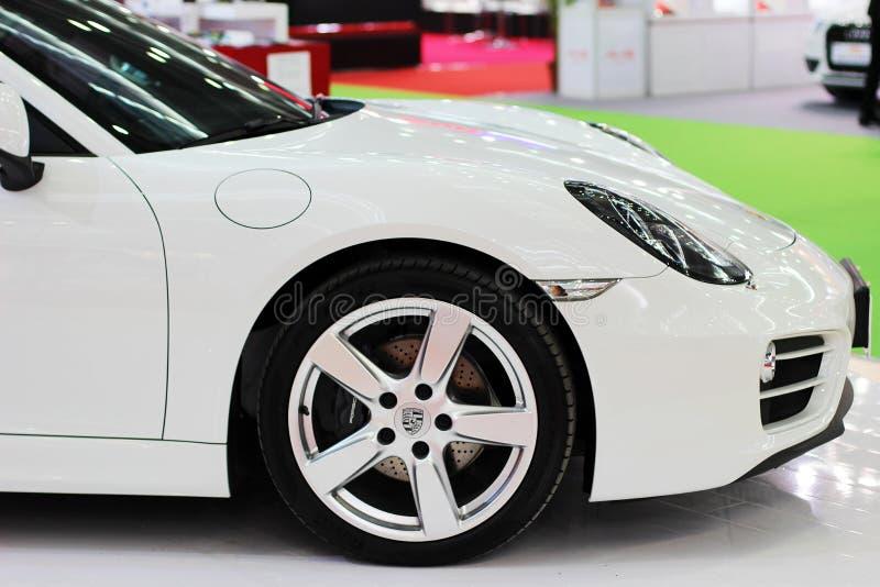Ein Porsche-offener Tourenwagen lizenzfreie stockfotografie