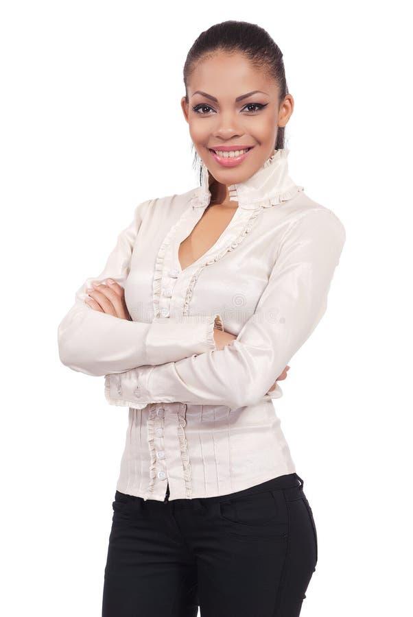 Ein Portrait der Geschäftsfrau stockbilder