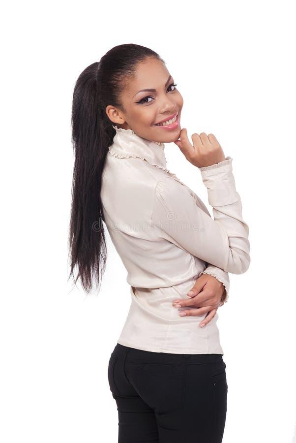 Ein Portrait der Geschäftsfrau lizenzfreies stockfoto