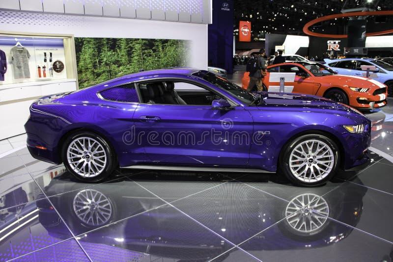 Ein Prämiencoupé Ford Mustangs GT lizenzfreie stockfotografie