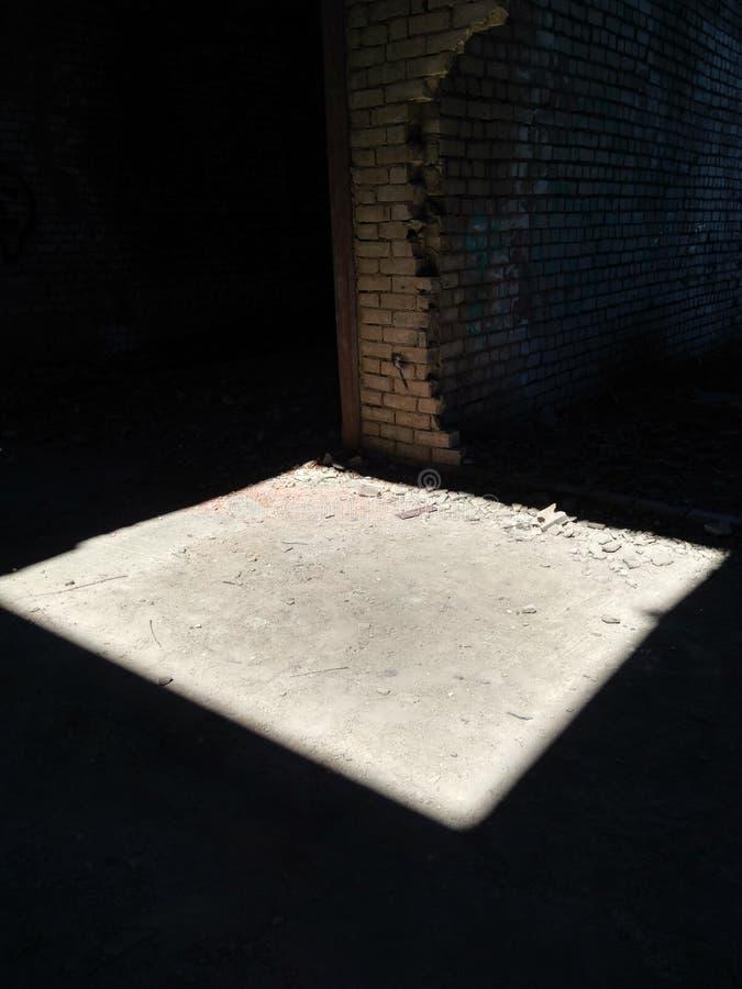 Ein Quadrat des Lichtes stockfoto