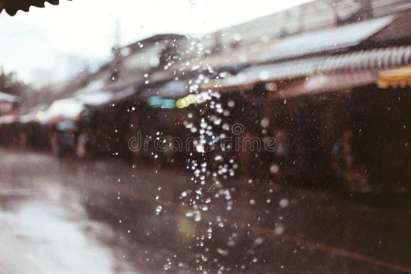 Ein regnerischer Tag lizenzfreie stockbilder