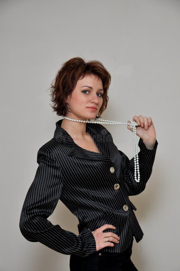 Ein reizend und reizendes Mädchen lizenzfreies stockfoto