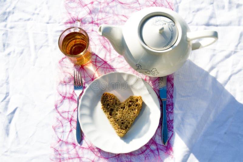 Teezeit #3 lizenzfreies stockfoto